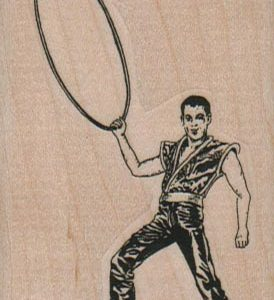 Man With Hoop 2 x 3-0
