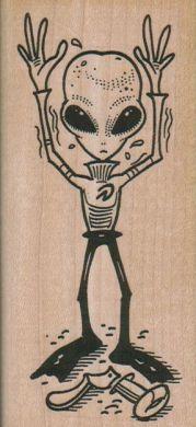 Alien Hands Up 2 x 4 1/4-0