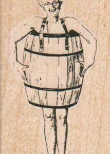 Barrel Lady 1 3/4 x 3-0