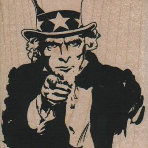 Uncle Sam Wants You 2 3/4 x 3 1/4-0