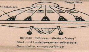 Flying Saucer Diagram 2 x 4-0