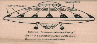 Flying Saucer Diagram 2 x 4-0