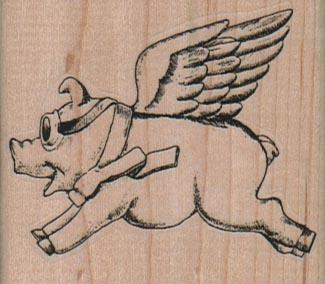 Flying Pig 2 1/4 x 2-0