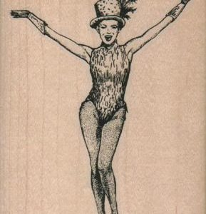 Showgirl Arms/Lg 3 x 4-0