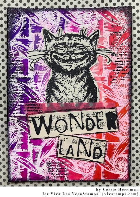 Cheshire Cat Sitting 2 1/2 x 3 1/2-60345
