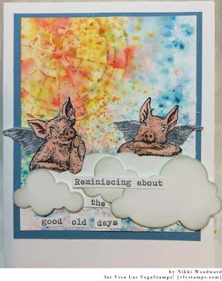 Angel Pigs 3 3/4 x 2-45808