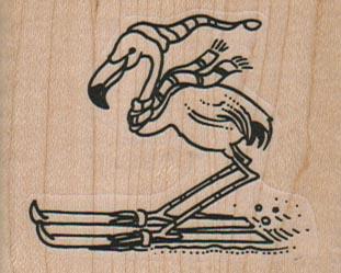 Flamingo Skiing 2 1/4 x 1 3/4-0