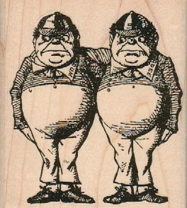 TweedleDum And TweedleDee 2 3/4 x 3-0
