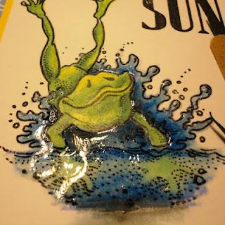 Frog Landing 2 1/2 x 3 1/4-34195
