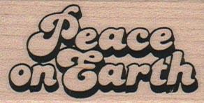 Peace On Earth 1 1/4 x 2-0