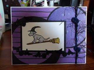 Dog Witch On Broom 2 3/4 x 2-32128