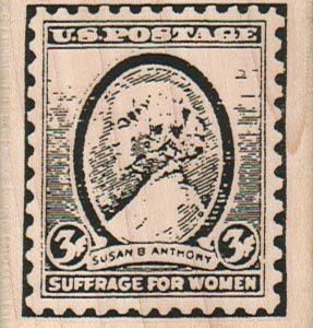Suffrage For Women Postoid 2 x 2 1/4-0