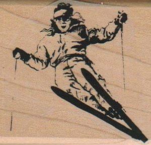 Ski Jump Lady 2 x 2 1/4-0
