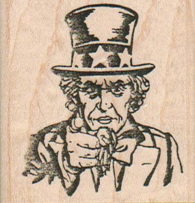 Uncle Sam Pointing 2 x 2-0