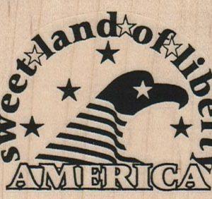 Sweet Land Of Liberty 2 1/2 x 2-0