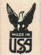 Made In USA Eagle 1 x 1 1/4-0