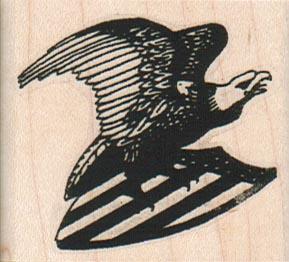 Eagle On Shield 2 x 1 3/4-0