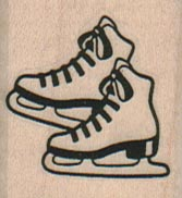 Outline Ice Skates 1 1/4 x 1 1/4-0