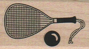 Racket And Ball 1 1/4 x 2-0