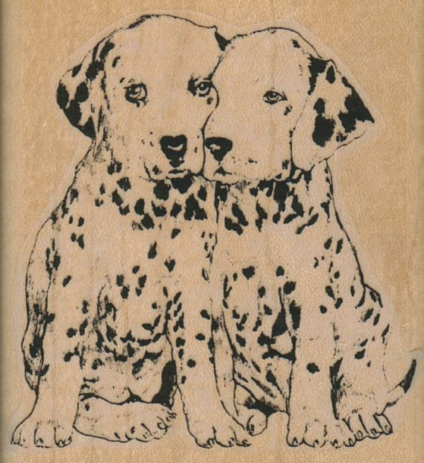 Spotted Pup Friends 2 1/2 x 2 3/4-0