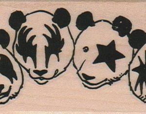 Four Panda Bears 1 3/4 x 3 1/2-0