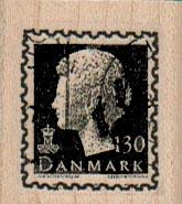 Danmark Postage 30 1 1/4 x 1 1/4
