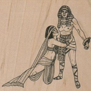 Egyptian Couple 4 x 3 3/4-0