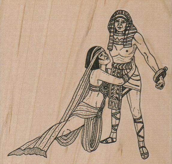 Egyptian Couple 4 x 3 3/4