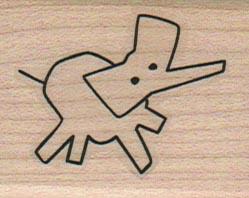 Stick Elephant 1 1/2 x 1 3/4-0