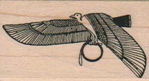 Egyptian Bird 1 1/4 x 2-0