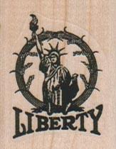 Liberty In Circle 1 1/4 x 1 1/2-0