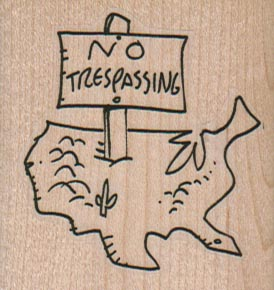 No Trespassing US 2 x 2