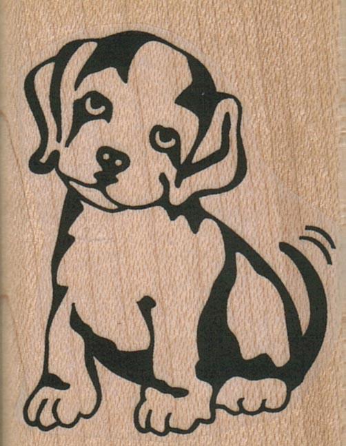 Beseeching Dog 1 3/4 x 2 1/4-0