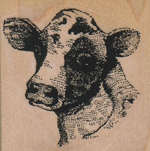 Cow In Your Face 1 3/4 x 1 3/4-0
