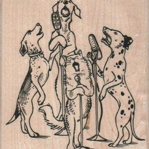 Dog & Cat Quartet 3 1/2 x 3 3/4-0