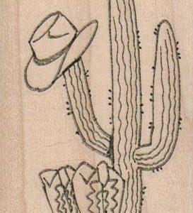 Cactus, Hat & Boots 2 x 3 1/4-0