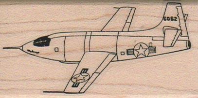 USAF Jet Plane 1 1/2 x 2 3/4