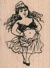 Belly Dancer 1 3/4 x 2 1/4-0