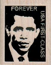 Obama Postoid 1 1/4 x 1 1/2