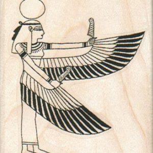 Egyptian Winged Lady 2 1/4 x 2 1/2-0