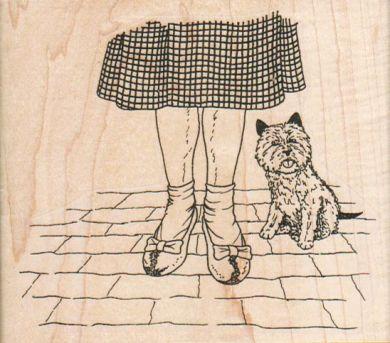 Dorothy & Toto 3 3/4 x 3 1/4-0