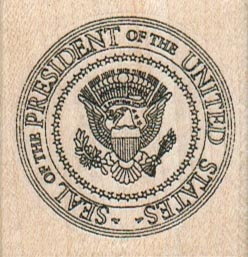 Presidential Seal 1 3/4 x 1 3/4-0