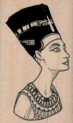 Nefertiti 1 3/4 x 2 3/4-0