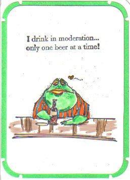 Frog At Bar 3 1/4 x 2-32388