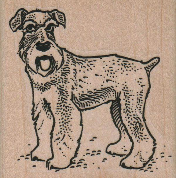 Dog Panting 2 1/4 x 2 1/4-0