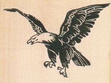 Eagle Flying 3 3/4 x 2 3/4-0