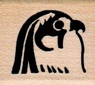 Egyptian Falcon Symbol 1 1/4 x 1 1/4-0