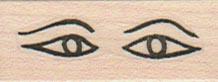 Egyptian Eyes 3/4 x 1 1/2-0