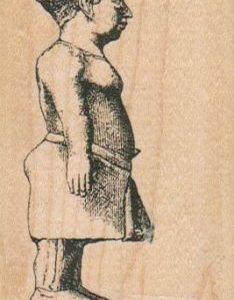 Egyptian Dwarf Statue 2 x 3-0
