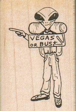 Alien Hitchhiker/Vegas/Small 1 3/4 x 2 1/2-0